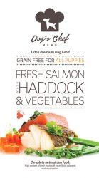 DOG'S CHEF Fresh Salmon with Haddock & Vegetables PUPPIES